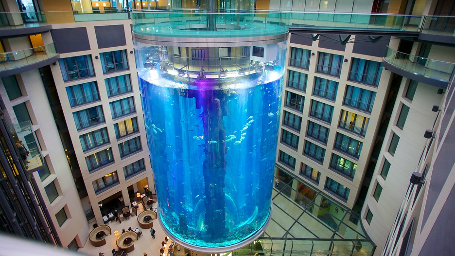 The Aquadom, Berlin, Germany