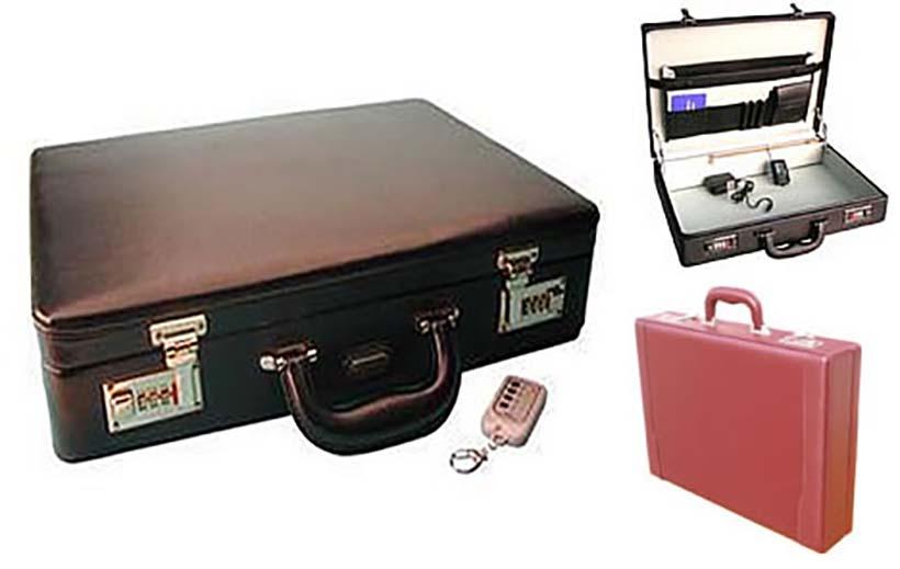 electric shock briefcase