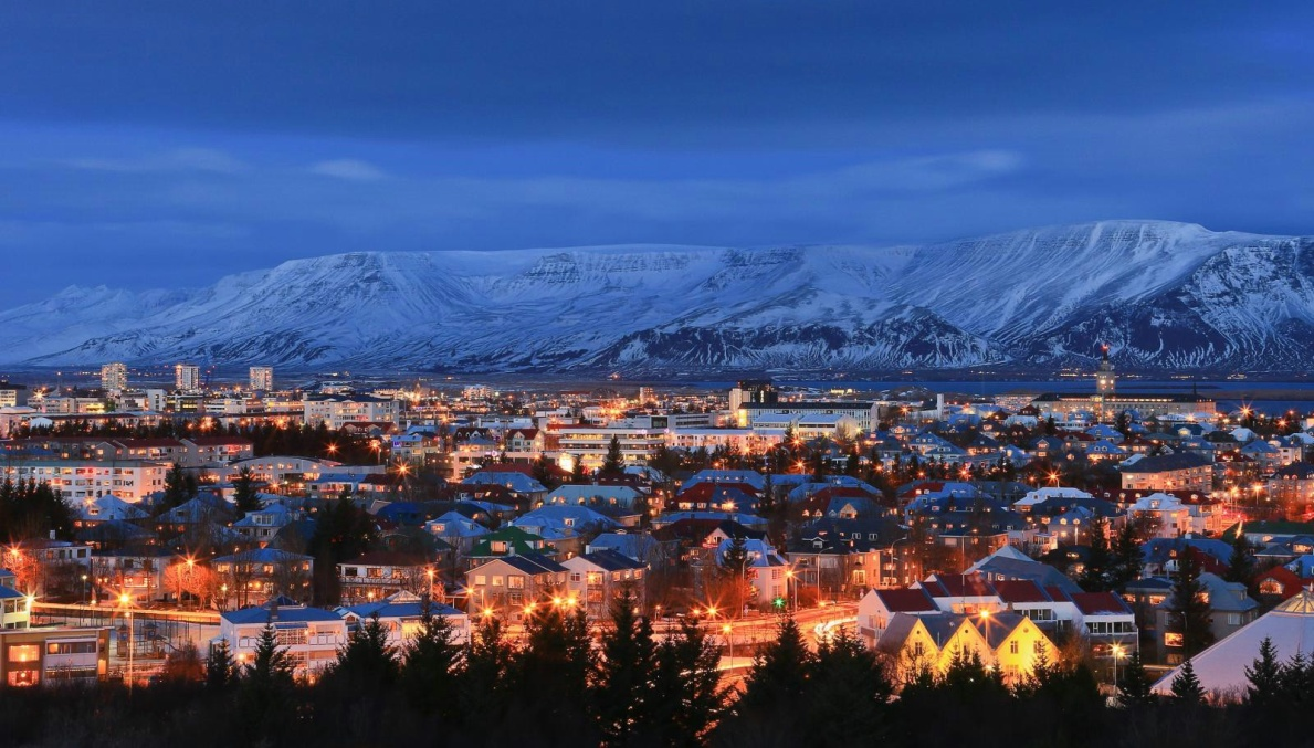 Iceland the world's safest country