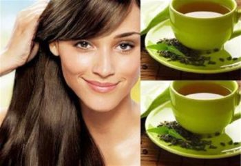 Green tea health benefits boosting growth of healthy hair