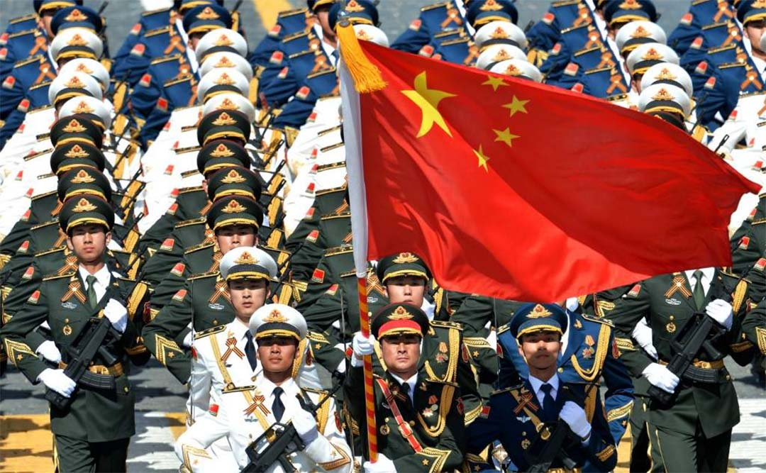 most powerful army in the world - china