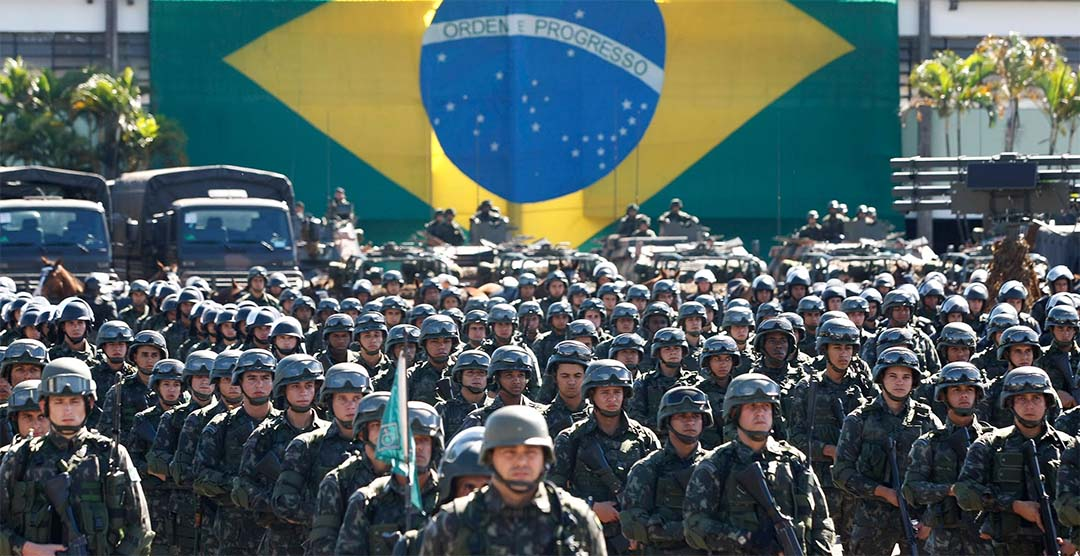 most powerful military brazil