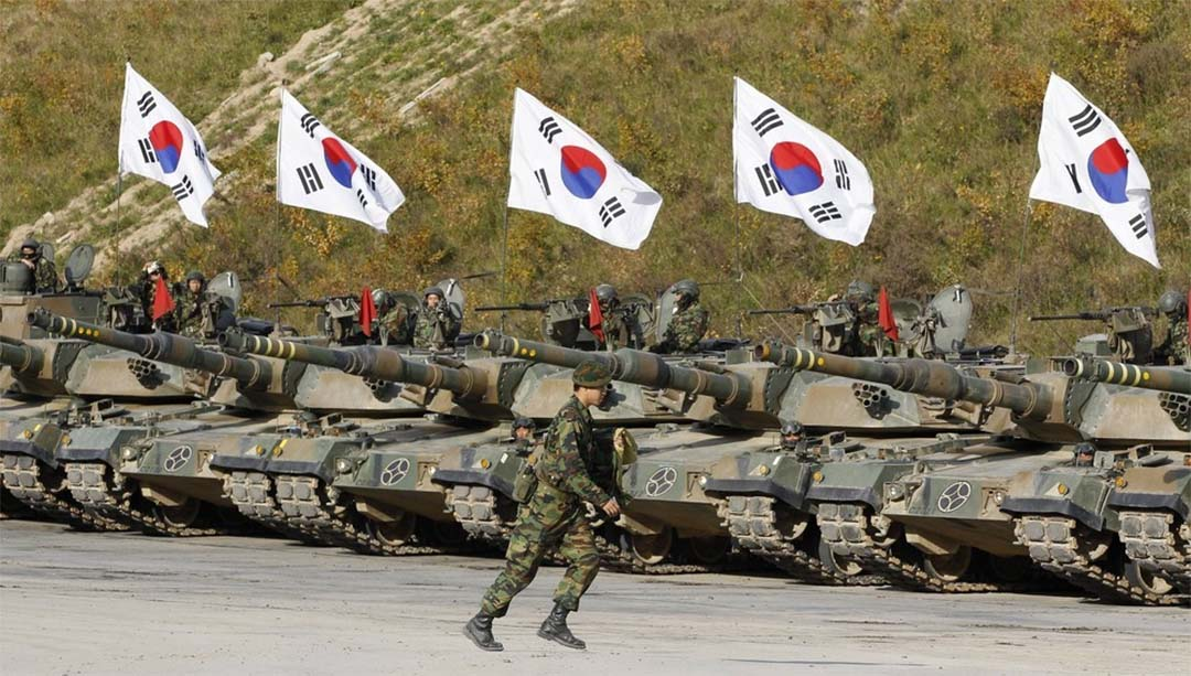 most powerful military in the world - shouth korea