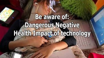 dangerous health impacts of technology