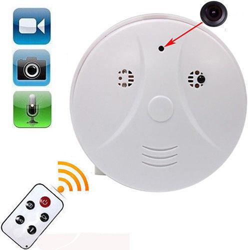 hidden smoke detector spy camera