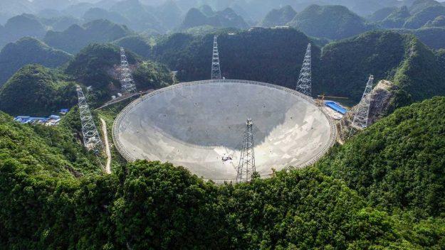 Five-hundred-meter Aperture Spherical Telescope