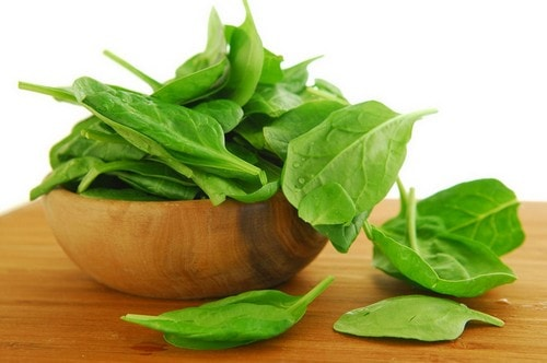 Spinach improves vision